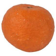 Antique Italian Stone Fruit Orange