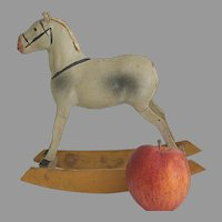 Antique Miniature Rocking Horse