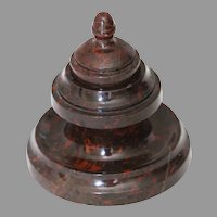 Antique Marble Inkwell