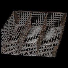 Vintage Wire Kitchen Cutlery Tray