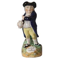 Antique Staffordshire Toby Jug