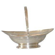 Georgian Sterling Basket London 1834