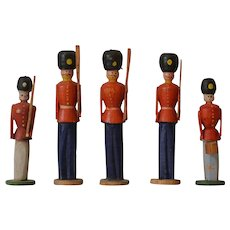 Antique Erzgebirge Toy Soldiers