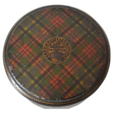 Tartan Ware Thread and Thimble Holder by Clark & Co.