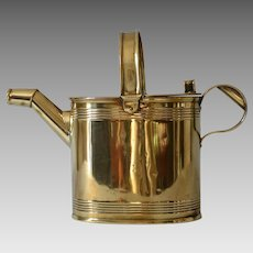 Antique Victorian Brass Watering Can