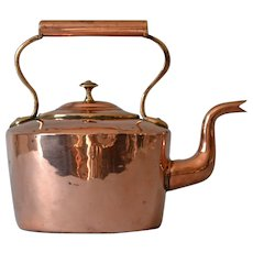 Antique Georgian Copper Kettle