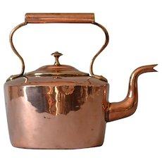 Antique Georgian Copper Kettle