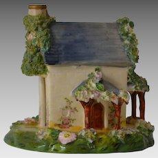 Antique Staffordshire House Pastille Burner