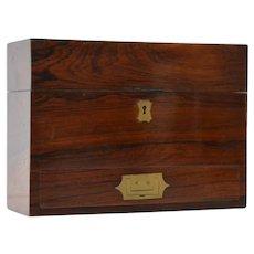 Antique Mahogany Desk Writing Box