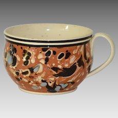 Antique Mocha Mochaware Cup Mug