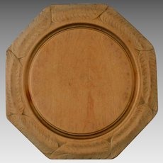 Antique Carved Victorian Breadboard Bread Board