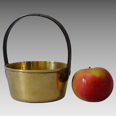Antique Miniature Brass Jelly Pan
