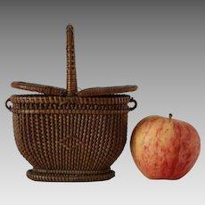 Antique Miniature Basket