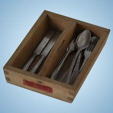 Chad Valley Cutlery Tray and Utensils