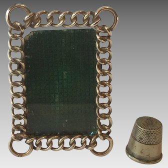 Miniature Brass Ring Frame from England