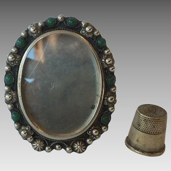 Antique Gem Jewel Miniature Frame from Italy
