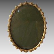 Antique French Gilt Oval Frame