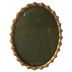 Antique French Gilt Oval Frame