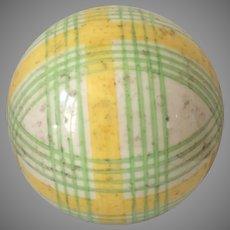 Victorian Carpet Ball Bowl