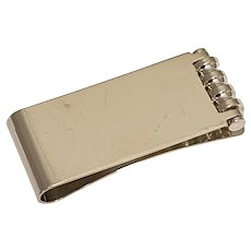 Tiffany & Co Paloma Picasso Sterling Silver Roller Money Clip