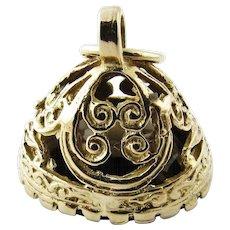 Antique Victorian 9 Karat Yellow Gold Smoky Topaz Watch Fob
