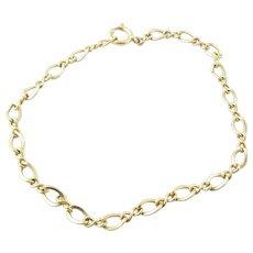 "Vintage 14 Karat Yellow Gold Bracelet Size 6.75"""