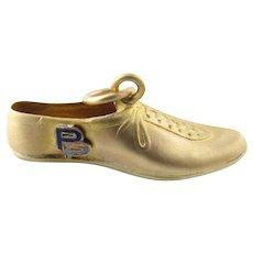 Vintage 14 Karat Yellow Gold Cleat Charm