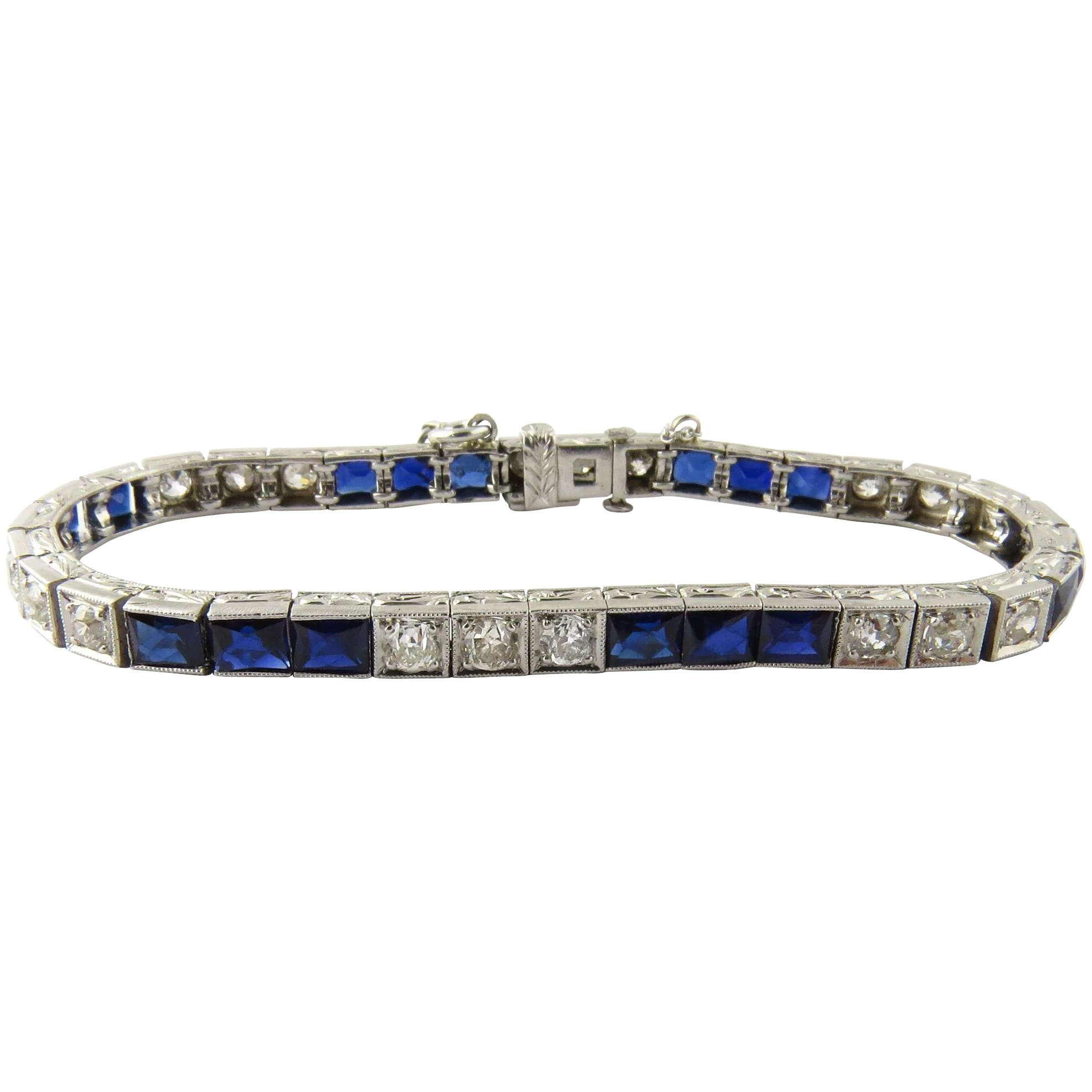 products diamond sold bracelet the sapphire art deco atique and juliet