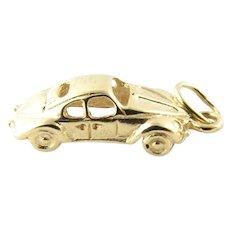 Vintage 14 Karat Yellow Gold 1963 Porsche 911 Charm
