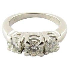 Vintage Platinum Diamond Anniversary/Engagement Ring Size 4.75