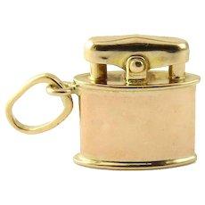 Vintage 14 Karat Yellow Gold Lighter Charm