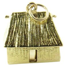 Vintage 18 Karat Yellow Gold Cottage Charm