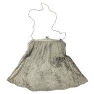 Vintage Victorian Sterling Silver Mesh Purse