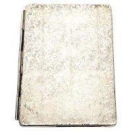 """Vintage Sterling Silver Folding Pocket/Travel Picture Frame, 2"""" x 3"""""""