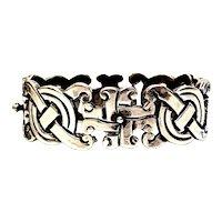 Vintage Taxco Reven Sterling Silver Fertility Bracelet