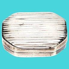 Antique English Sterling Silver Samuel Pemberton Vinaigrette Box