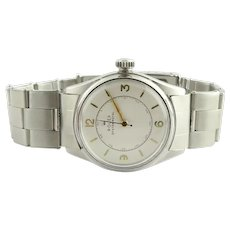 1947 Rolex Oyster Royal 4444 Stainless Steel Men's Watch Hand-winding 30mm