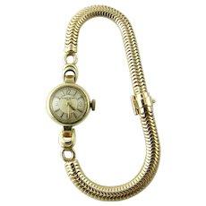 Vintage 1960's Vacheron Constantin 14K Yellow Gold Ladies Hand Winding Watch