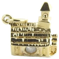 Vintage 14 Karat Yellow Gold Church/Chapel Charm