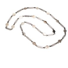 Vintage Marianne Berg for Uni Andersen Sterling Silver Necklace