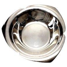 Vintage Tiffany Co Sterling Silver Nut Dish 23434