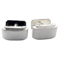 Tiffany & Co. Sterling Silver Metropolis Cufflinks