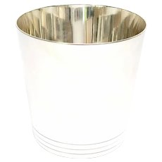 Vintage Tiffany & Co Sterling Silver Mint Julep/Tumbler Cup