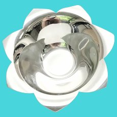 Tiffany & Co Sterling Silver Flower Dish