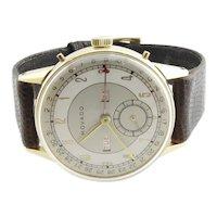 Movado 14K Yellow Gold Calendograph Men's Watch Hand Winding Movement