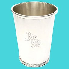 Vintage Sterling Silver Official Kentucky Derby Mint Julep Cup BWK
