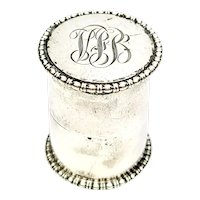 Antique Sterling Silver Thread Holder