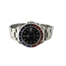 1991 Rolex GMT - Master Pepsi Bezel Men's Watch 16700 Automatic