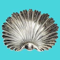 Buccellati Sterling Silver Arca Small Shell Dish