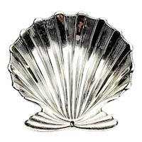 Buccellati Sterling Silver Chlamys Small Shell Dish